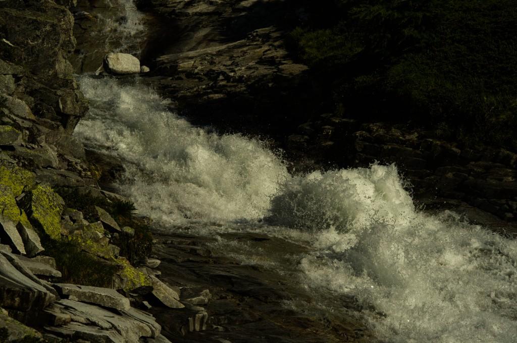 Schmelzwasser vom Stampflkees